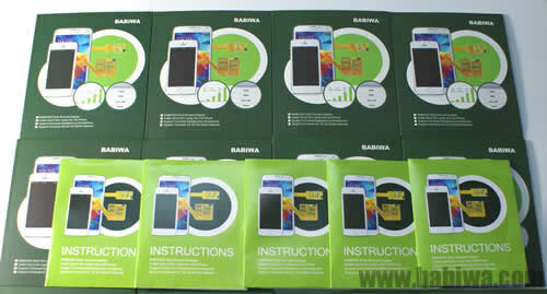 Genuine Multi Sim Card Adapter for Universal Samsung Ch@t 333 (S3330 ,S3332 S322 etc) mobile phone.