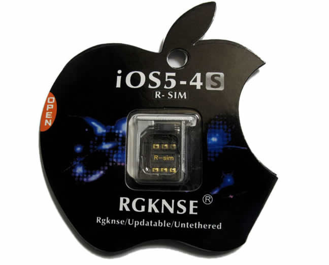 iphone 4s unlock card