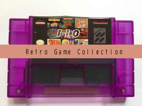 Multi gamecard. 110 retro games in 1 Game cartridge.Compatible with SNES SFC .International Wholesale and Shipping.