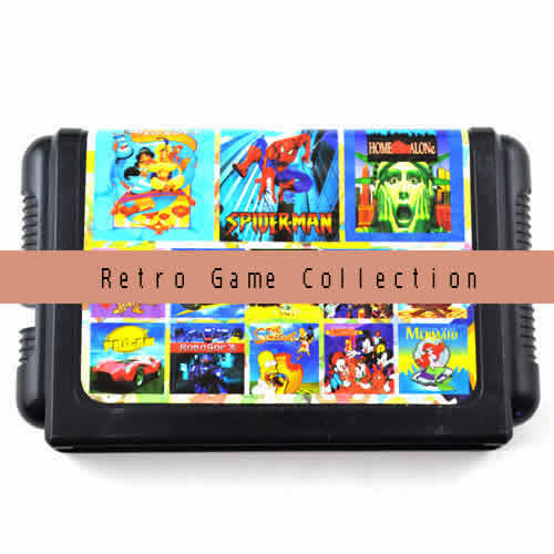 Multi gamecard. Multi retro games in 1 Game cartridge (Optional 8in1,9in1,11in1,13in1,18in1).Compatible with SEGA MD or SEGA MEGA DRIVE .International Wholesale and Shipping.