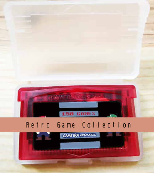 Multi game card.150 retro games in 1 game cartridge.Compatible with GBA GAMEBOY ADVANCE Console.International Wholesale and Shipping.