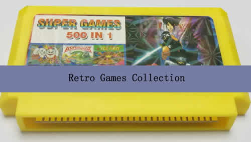 Multi gamecard. 500 retro games in 1 Game cartridge.Compatible with FC NES console etc.International Wholesale and Shipping.