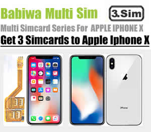 BW-MGL-10X (3 Simcard for Apple Iphone X) Genuine Apple Iphone X Triple Sim Card Adapter ,Specially Molded Nano-Sim Tray(easy installation).Must-have Accessory for Apple Iphone X ,also known as Apple Iphone Ten,Iphone 10,Apple A1865,Apple A1901 etc (Free Shipping worldwidely via registered airmail thru post office)